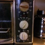 The temp knob wasn't always like that :)