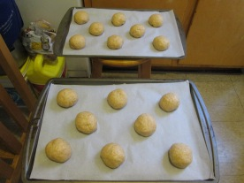 Rolls ready for a second rise
