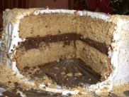 Smore cake innards. I still dream about this one.