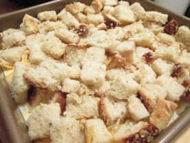 Crouton layer (the best part!)