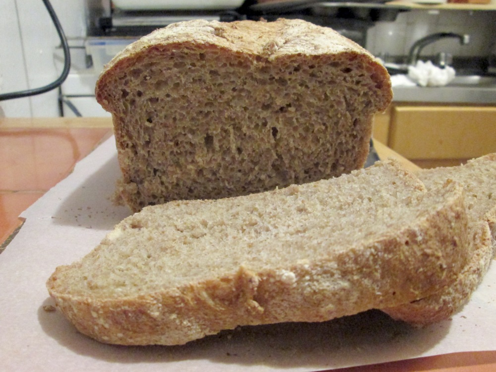 No Knead Sandwich Bread (1/6)