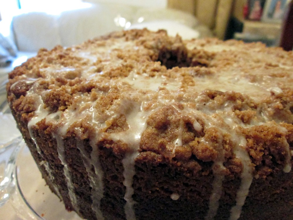 Cinnamon Streusel Coffee Cake (1/3)