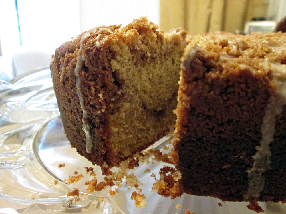 Cinnamon Streusel Coffee Cake (2/3)