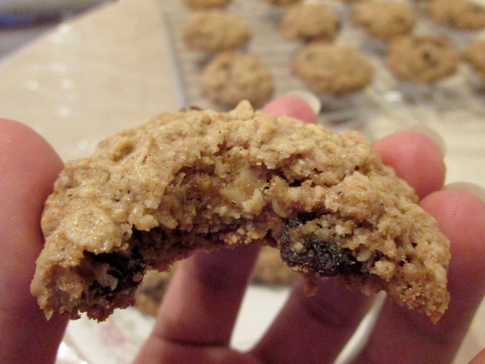 Oatmeal Raisin Cookies (5/5)