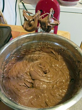 Finished Chocolate Frosting