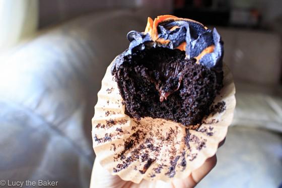 Chocolate Stout Cupcakes 5