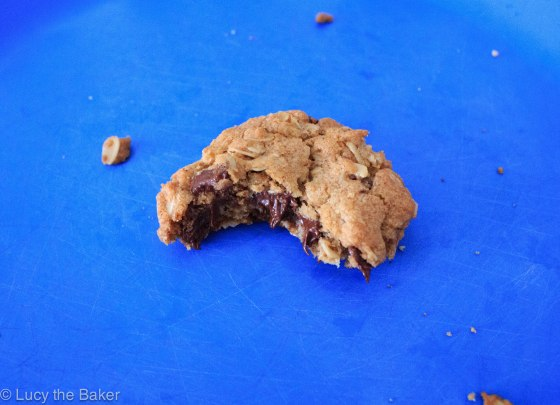 Brown Butter Oatmeal Chocolate Chip Cookies_2